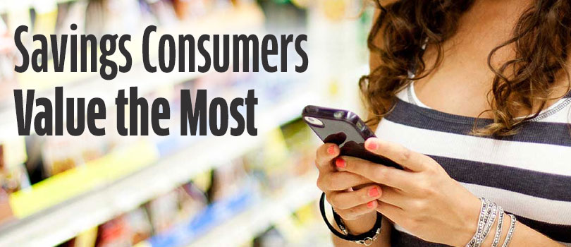 Savings Consumers Value The Most
